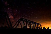 Milky Way over the Bridge