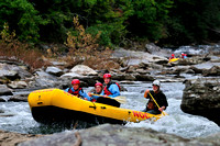 Rafting the Chattooga River