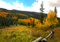 Fall above Creede